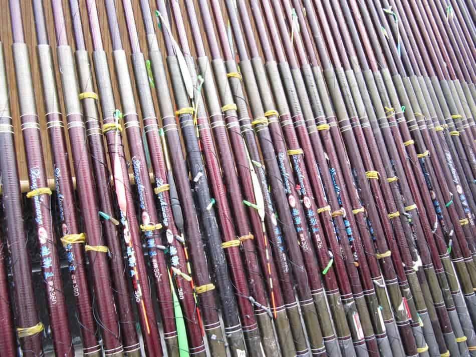 Fishing rod blanks