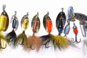 Old trout fishing lures