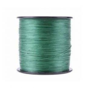 Spool of braided fishing line