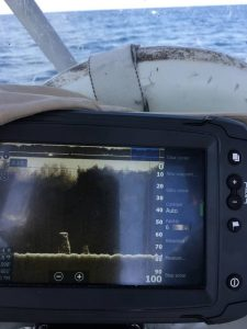 fish finder depth