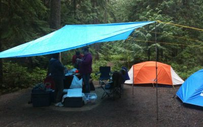 Rain Shouldn't Stop You From Camping In a Tent. Try These Easy Hacks
