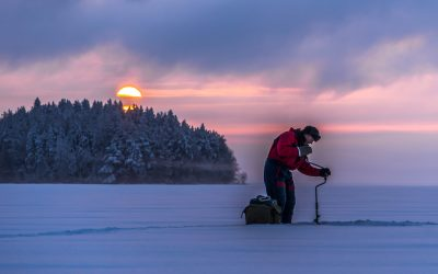 How Thick Should Ice Be For Ice Fishing?